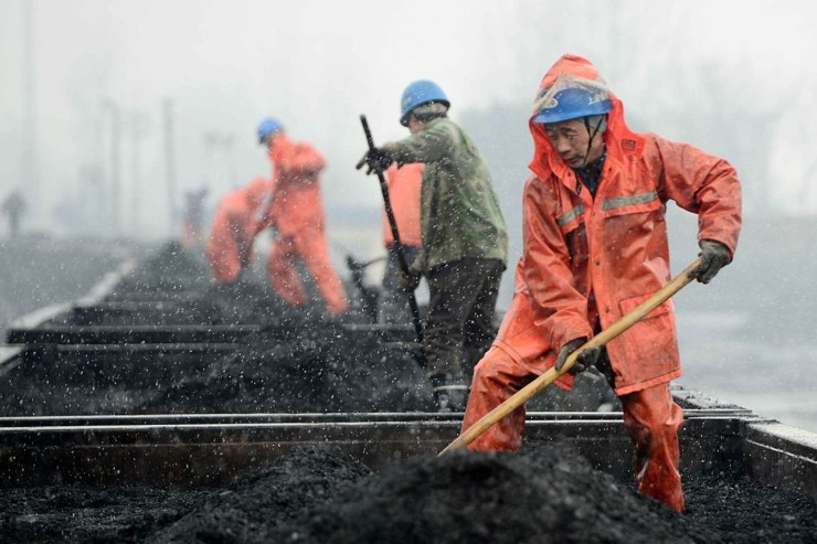 The real war on coal is happening in China right now