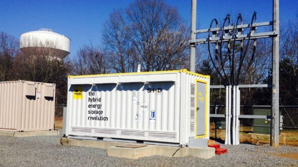 New Grid Storage Technology Helps Integrate Renewables